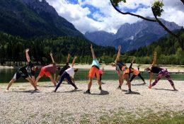 Yoga und Pilates in Kranjska Gora mit Ana Kersnik Žvab