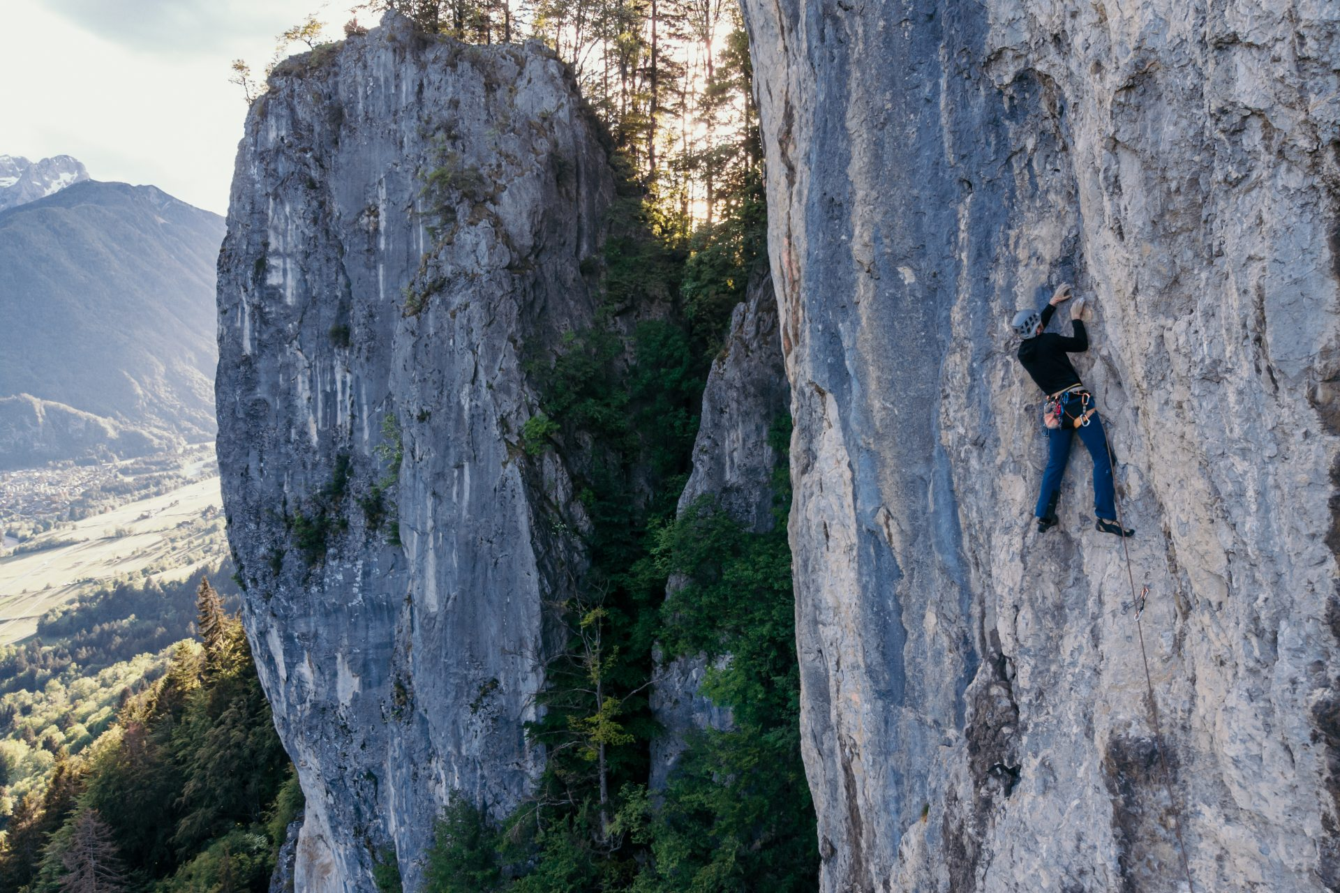 Climbing in Kranjska Gora