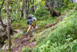Chiusura sentiero escursionistico