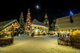 Virtualni prižig prazničnih luči v destinaciji Kranjska Gora
