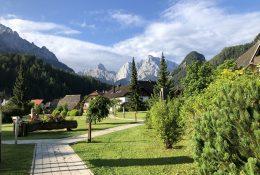 Park of Peace in Kranjska Gora
