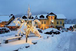 Winter fairy tale in hotel Kotnik