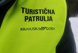 Turistična patrulja v Kranjski Gori