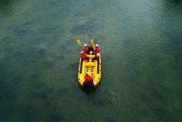 Rafting on the Sava River