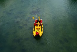 Rafting auf dem Fluss Sava