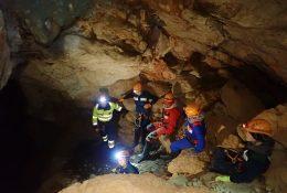 Ein Ausflug in die Höhle von Kranjska Gora