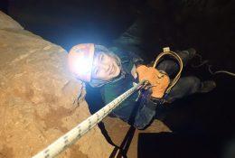 Ein Ausflug in die unterirdische Höhle