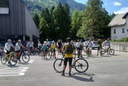 Otvoritev krožne turnokolesarske poti Juliana Bike
