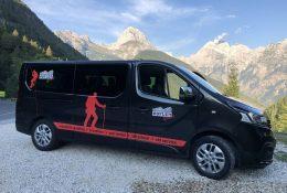 Transfers rund um die Julischen Alpen