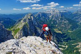 Mieten Sie einen Bergführer für gesicherte Routen