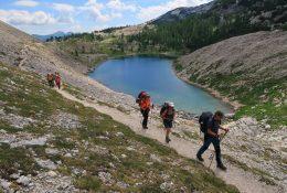 Trekking über die Julischen Alpen