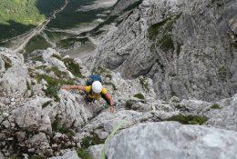 Triglav Nordwand - eine lange deutsche Route